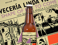 The Shape of IPA to come -  Craft beer label