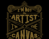 I'm Not The Artist - T-shirt Design