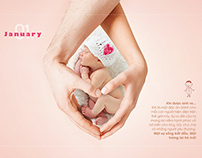 DP FOOD Calendar 2014 -12 happiest moments in your life