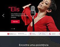 Site Redesign - Bradesco Seguros