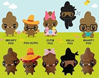 Stinky Poo Plush Series