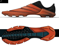 Free-Sole Football Boot