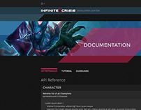 Infinite Crisis Developer Site, WB Games Turbine