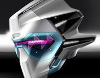 Robot racer of MOTORGP