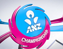 ANZ Championship 3D Logo Resolves