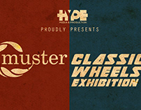 Animated Posters For Muster Classic Wheels Exhibition