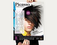 Picasso Coiffure ( Flyer+Poster)