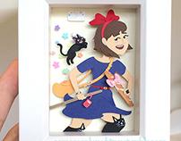 Paper cuts: Kiki's Delivery Service