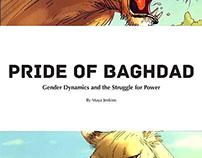 Print Design - Pride of Baghdad