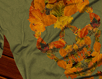 Autumn Leaves T-Shirt Design
