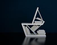 Papergeometrix chair