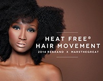 Heat Free® Hair Rebrand