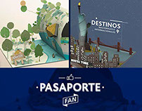 LAN - Pasaporte fans