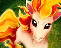 Peruvian Artists Pokedex Project - PONYTA