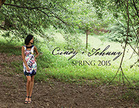 Cindy + Johnny Spring 2015 campaign