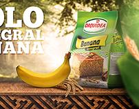 Bolo Integral Banana Orquidea