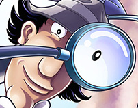 INSPECTOR GADGET COVERS