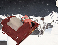 Santa's New Sleigh (Director's Cut)