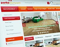 My Floor World e-Commerce - Parke Dunyam e-Ticaret Web