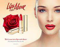 Lips&Above — Naming, Branding