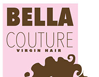 Logo concept for Bella Couture Hair Company