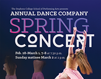 Stephens College Annual Dance Company Spring Concert