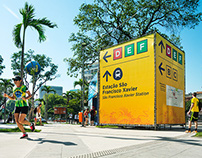 2014 FIFA World Cup Brazil - Wayfinding Design
