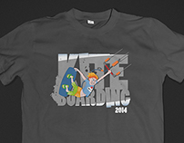 Kiteboarding t-shirt