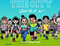 RUN THE CITY_Character Design