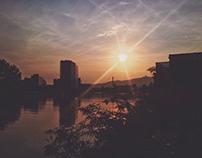 Sunset Bike Stroll