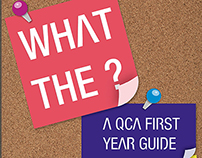Proposed QCA First Year Guide