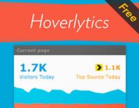 Hoverlytics. Free Hover-Over Google Analytics
