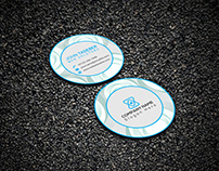 Creative Round or Circle Business Card Design