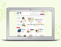 BabyHaven.com E-commerce Web Redesign