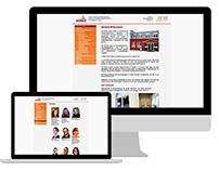 KOMO e.V., Webseite