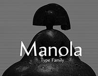 Manola Typeface