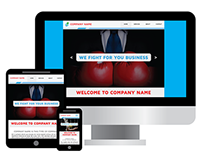 Corporate Pre-Made Website
