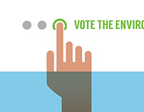 Vote the Environment Posters