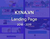 Kyna.vn Landing pages