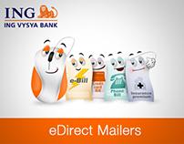 ING Vysya Bank - NetBanking and Debit Card campaigns