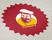 POPKOFF'S Redesign logo