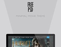 Minimal Movie Theme (FREE PSD)