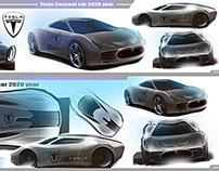 Tesla concept car 2020