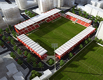Reconstruction of Flamurtari Stadium
