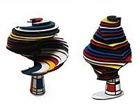 Piet Mondrian  Art concept design-2008