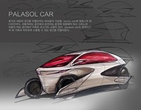 PALASOL CAR-(2009),Car sketch