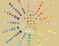 A Color Study of Pokemon