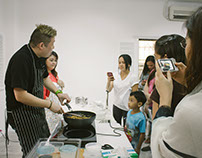 Cooking demo by Chef Jon Philip Chua (2015)