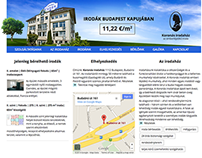 Koronasirodahaz.hu Website