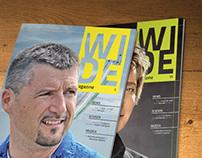 Wide magazine